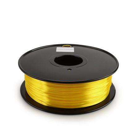 Silk PLA Filament – Yellow